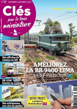 CLéS POUR LE TRAIN MINIATURE N°52