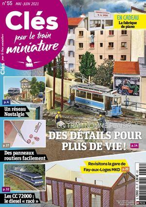 CLéS POUR LE TRAIN MINIATURE N°55